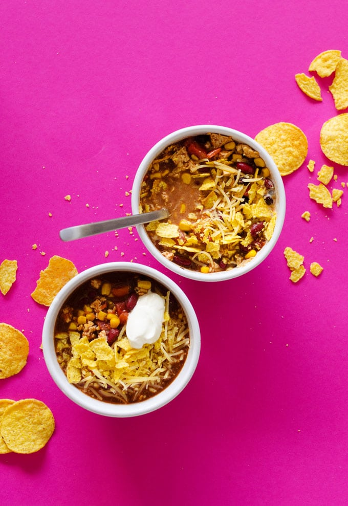 Easy Vegetarian Taco Soup