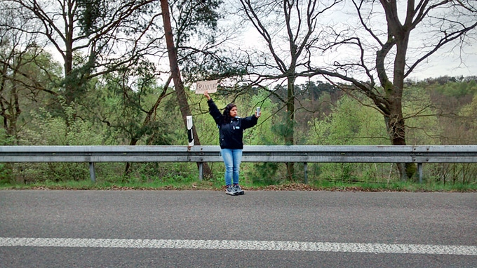 A guide to hitchhiking Europe! From safety to preparation to sticking out the thumb, this post has everything you need to make it across Europe