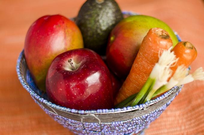 Avocado Mango Fruit Salad