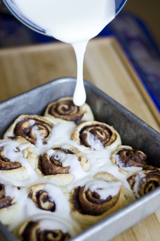 These Vegan Cinnamon Rolls are a quick and delicious take on classic cinnamon rolls...ooey, gooey, and packed with flavor!