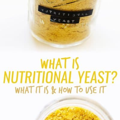 What is nutritional yeast? Your next new obsession. It adds a savory, creamy, cheesy component to any dish, it's 100% vegan, and it's really good for you!