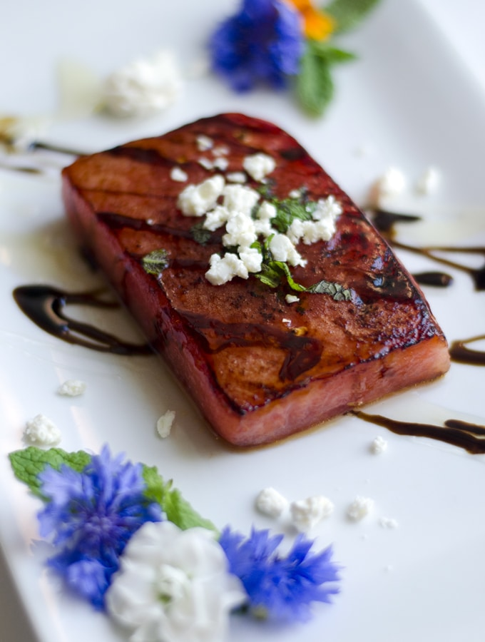 Pan-Seared Watermelon Steak