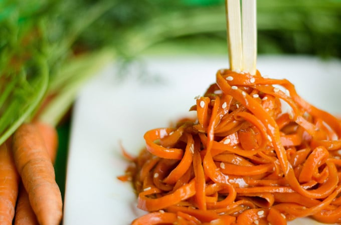 Asian Carrot Noodles