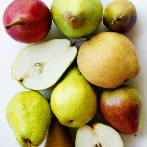 Everything you need to know about cooking with pears, including a breakdown of the different pear types.