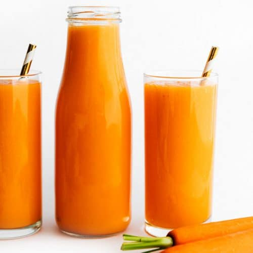 Blender Carrot Juice With Tropical Fruit And Ginger Live Eat Learn