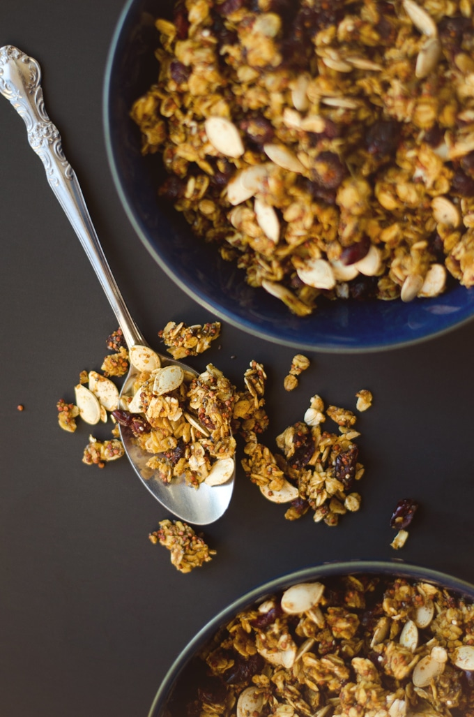 Double Pumpkin Granola