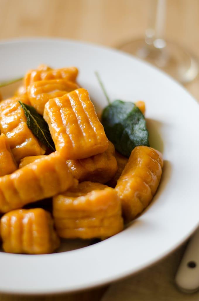 Sweet Potato Pumpkin Gnocchi