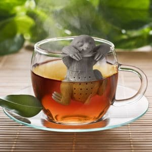 sloth tea diffuser - Us foodies have a soft spot for kitchen gadgets and trinkets when it comes to holiday gifts, so if you've got a food lover or two on your gift giving list, I've got a few ideas for you.  Healthy food lovers, aspiring chefs, food bloggers...here are 47 gift ideas for foodies.