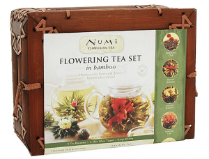 Blossoming Tea Flowers