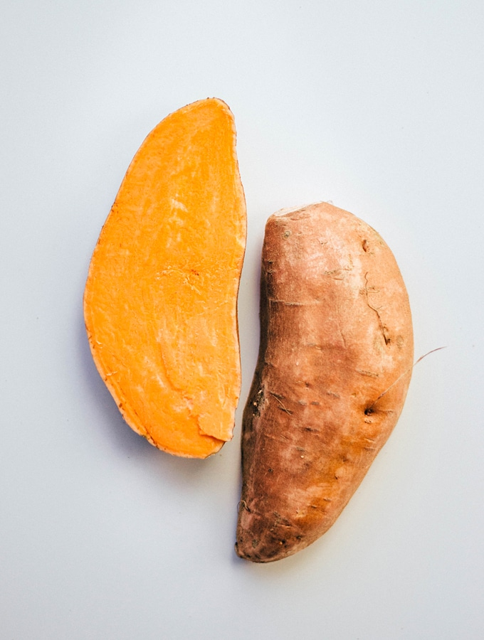 Everything you need to know about cooking with sweet potatoes! Seasonality, variations, ways to cook them, and nutrition information.