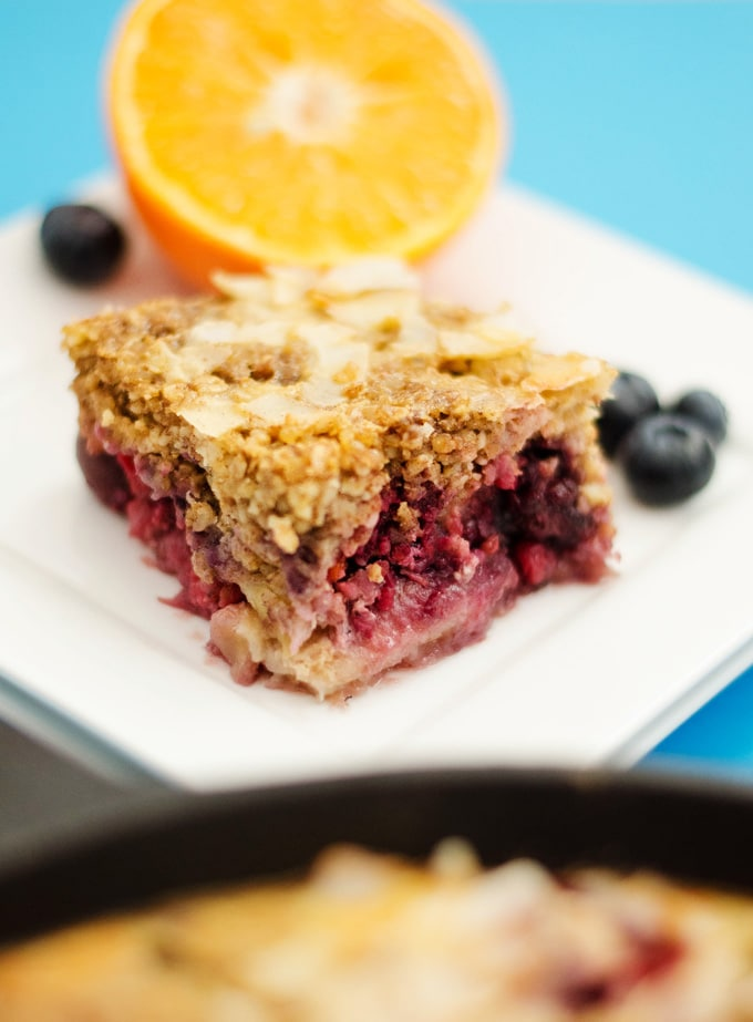 Berry Bulgur Breakfast Bake
