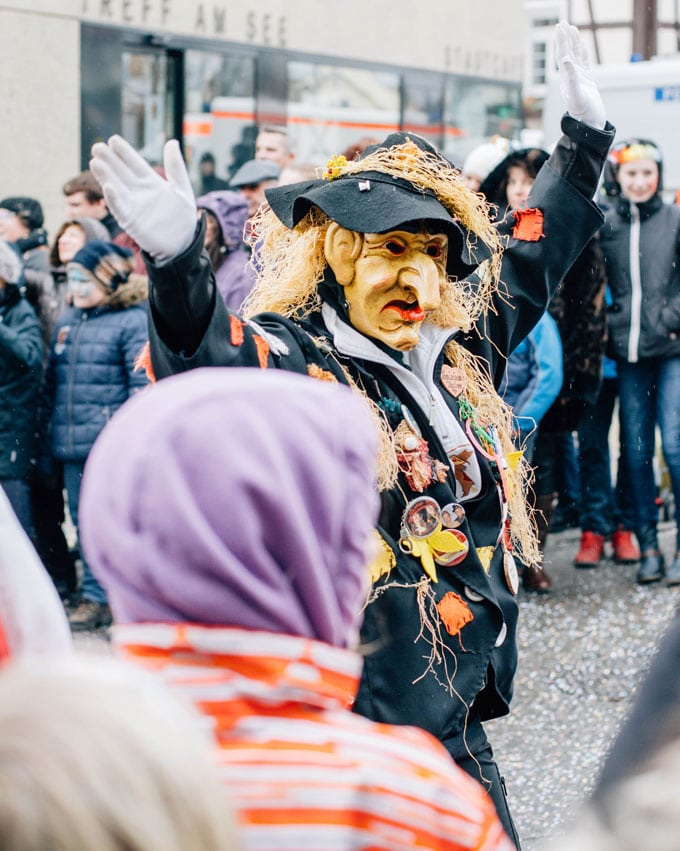 Celebrating Fasching in Stuttgart