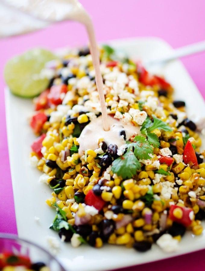 12. Mexican Street Corn Salad