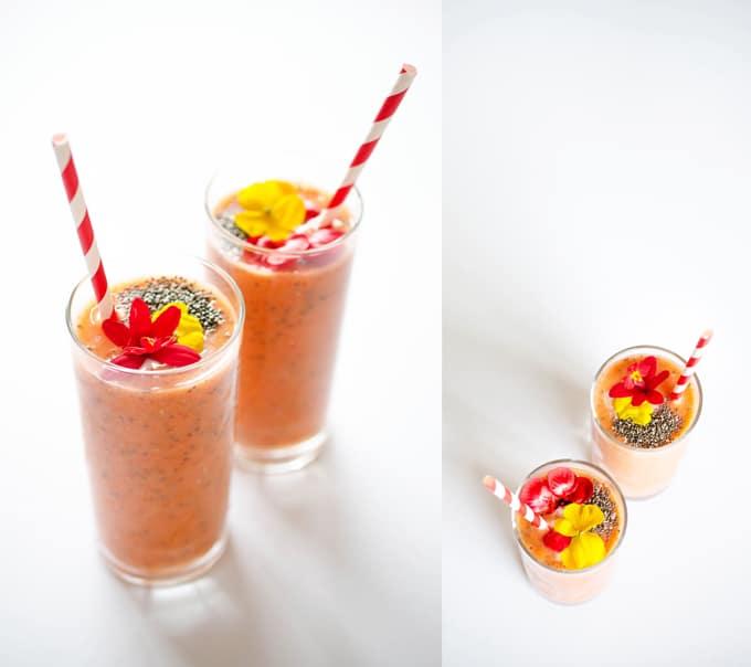 strawberry-sunrise-smoothie
