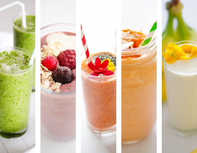Smoothie collage