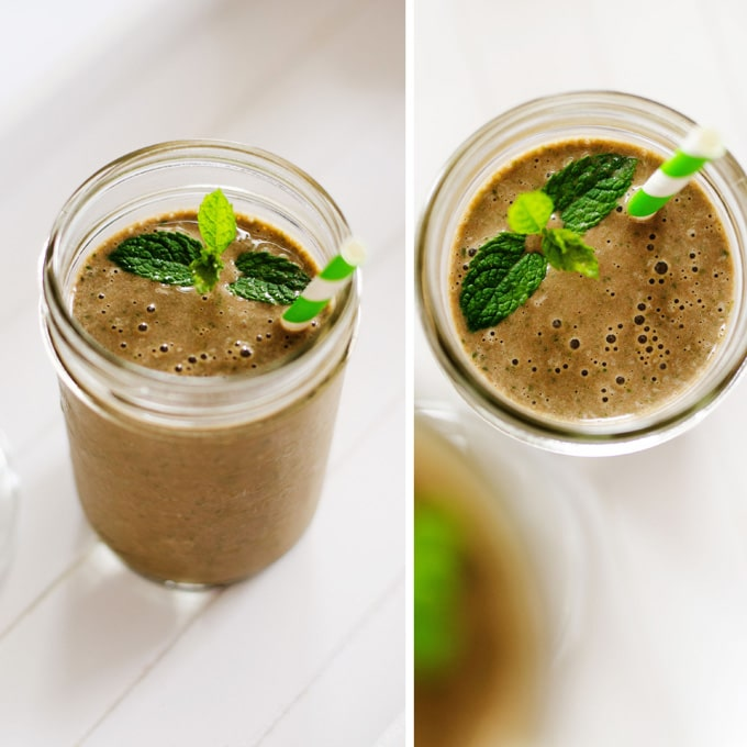 Thin Mint Smoothie