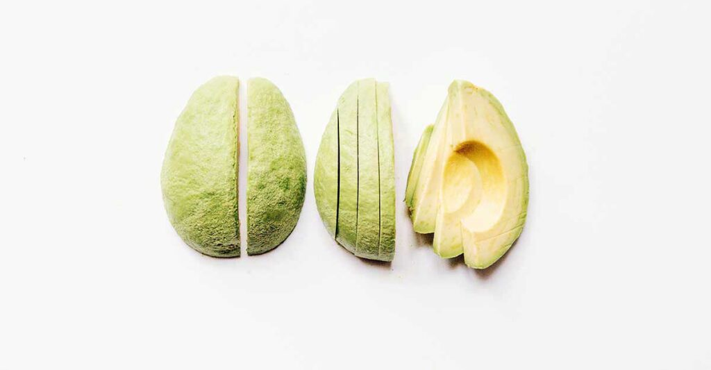 How to cut avocados