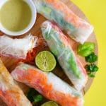 Thai Green Curry Spring Rolls