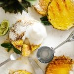 Grilled Honey and Lime Pineapple