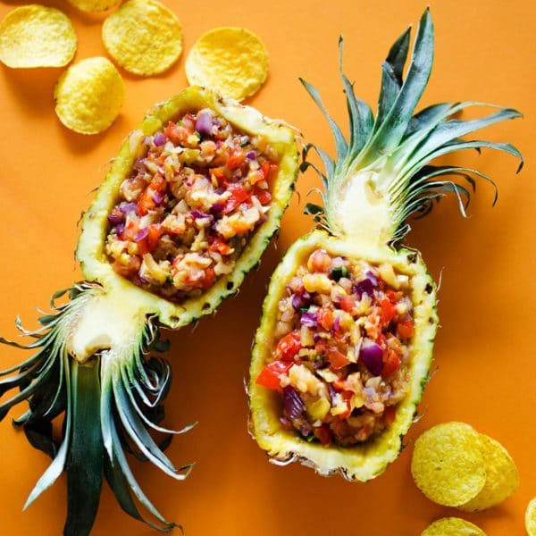 Grilled Pineapple Salsa