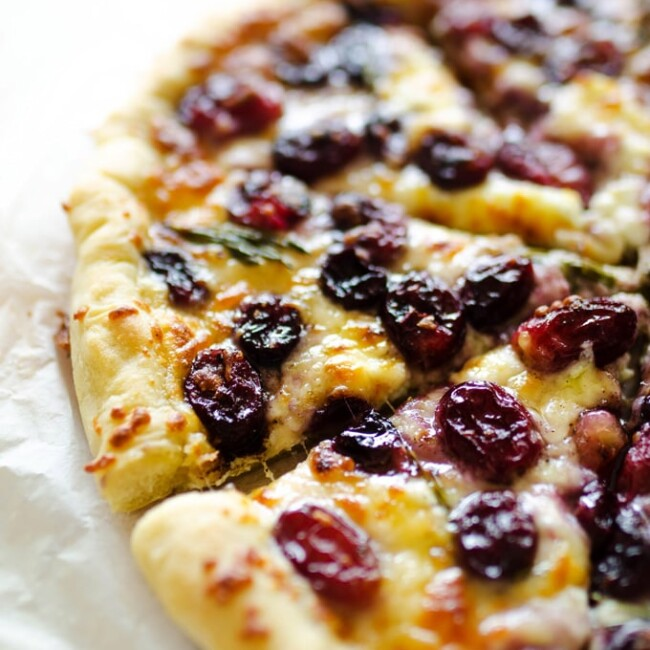 3 Cheese Roasted Grape Pizza