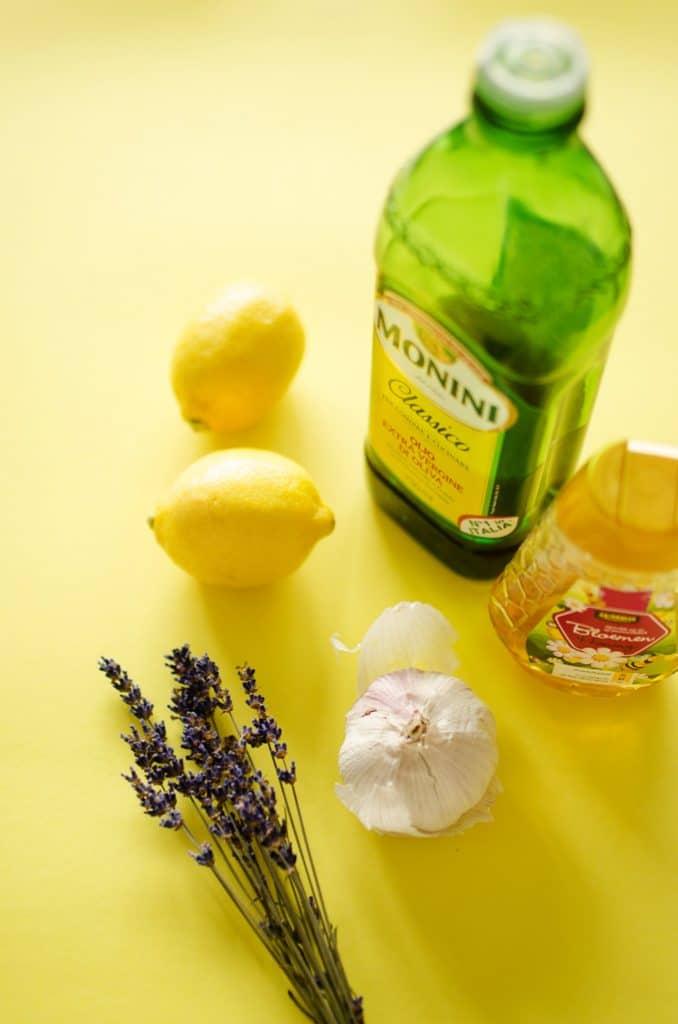 Berry Salad with Lavender Lemon Vinaigrette