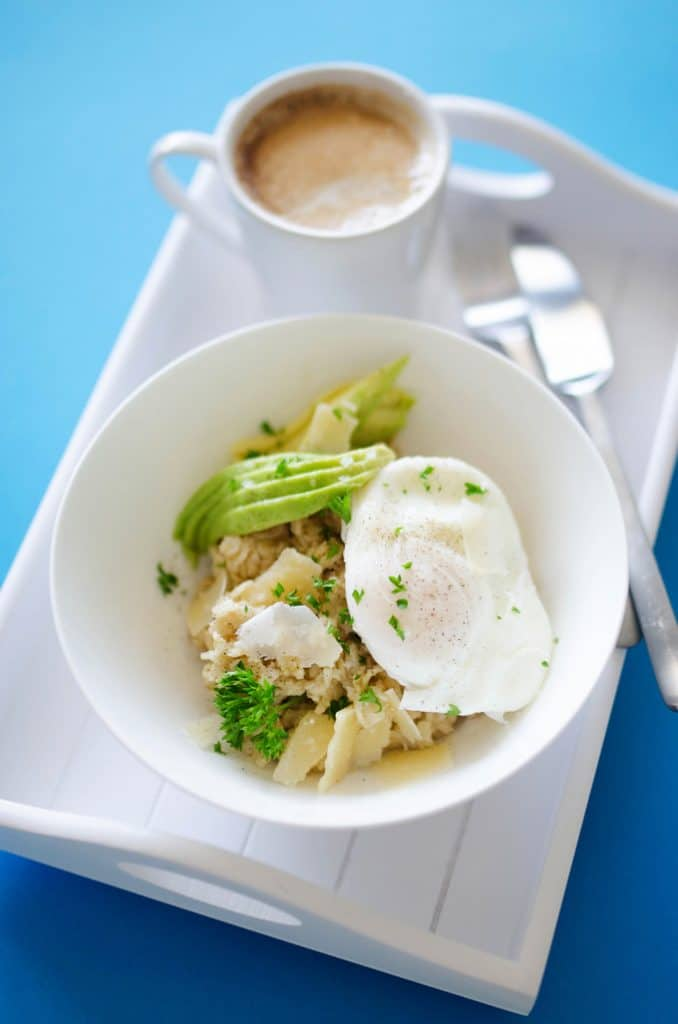 Savory Oatmeal With Avocado And Poached Egg Live Eat Learn