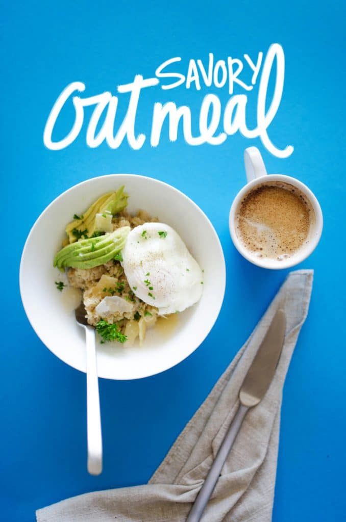 recipe: savory oatmeal with egg recipe [38]