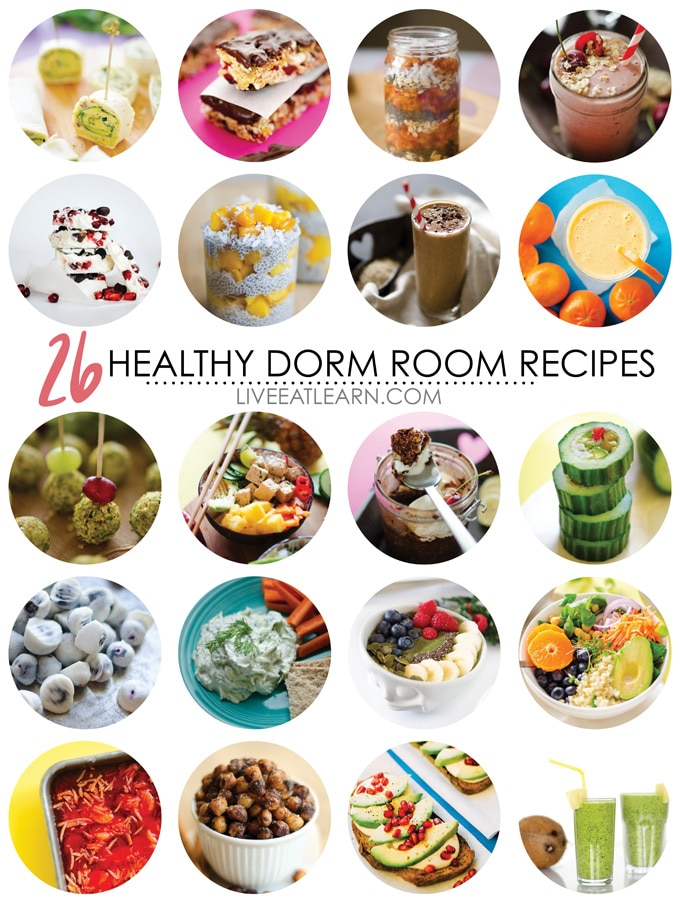 26 Healthy Dorm Room Recipes Live Eat Learn