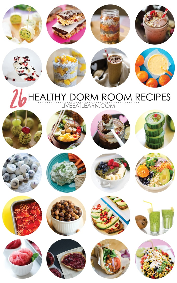 26 Healthy Dorm Room Recipes