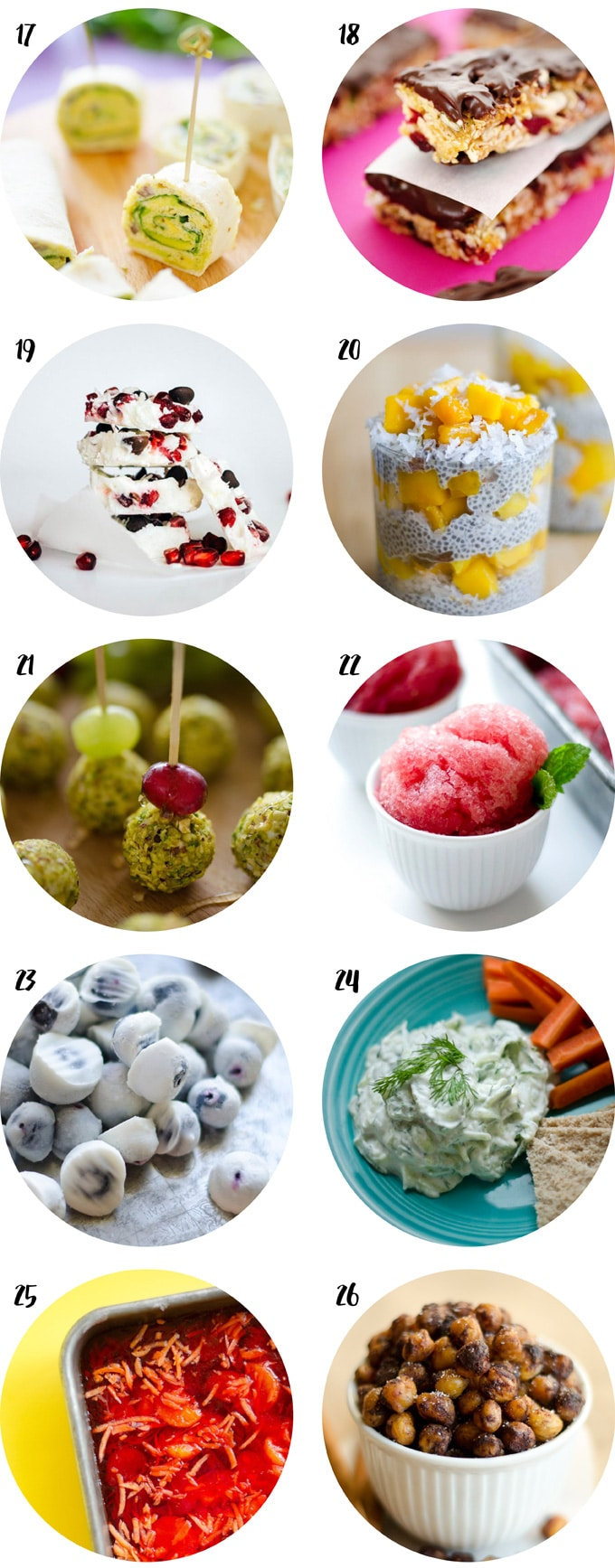 Snacks. 26 Healthy Dorm Room Recipes Part 61