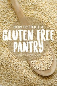 How to stock a gluten-free pantry