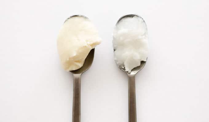 Coconut cream vs coconut oil