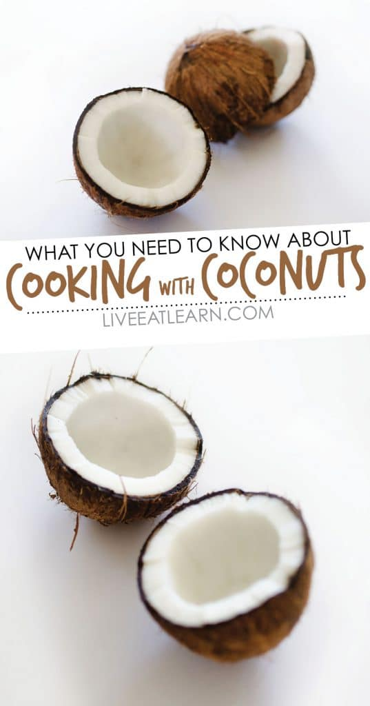 Cooking up a lovely bunch of coconuts