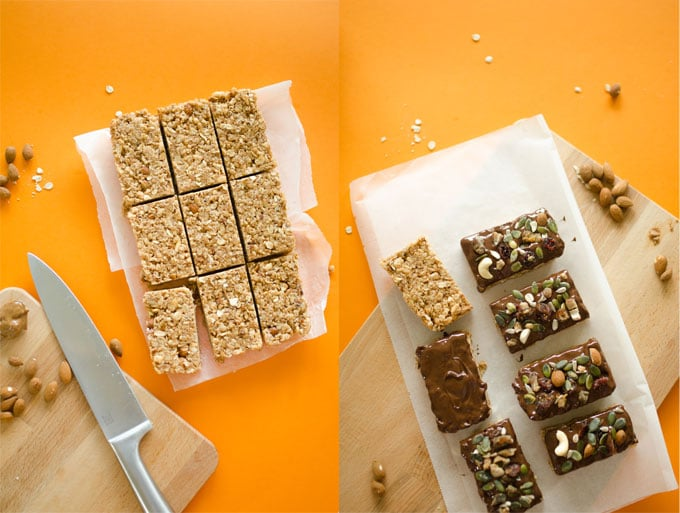 Healthy Homemade Granola Bars Recipe
