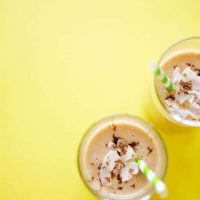 Not So Tropical Coconut Smoothie