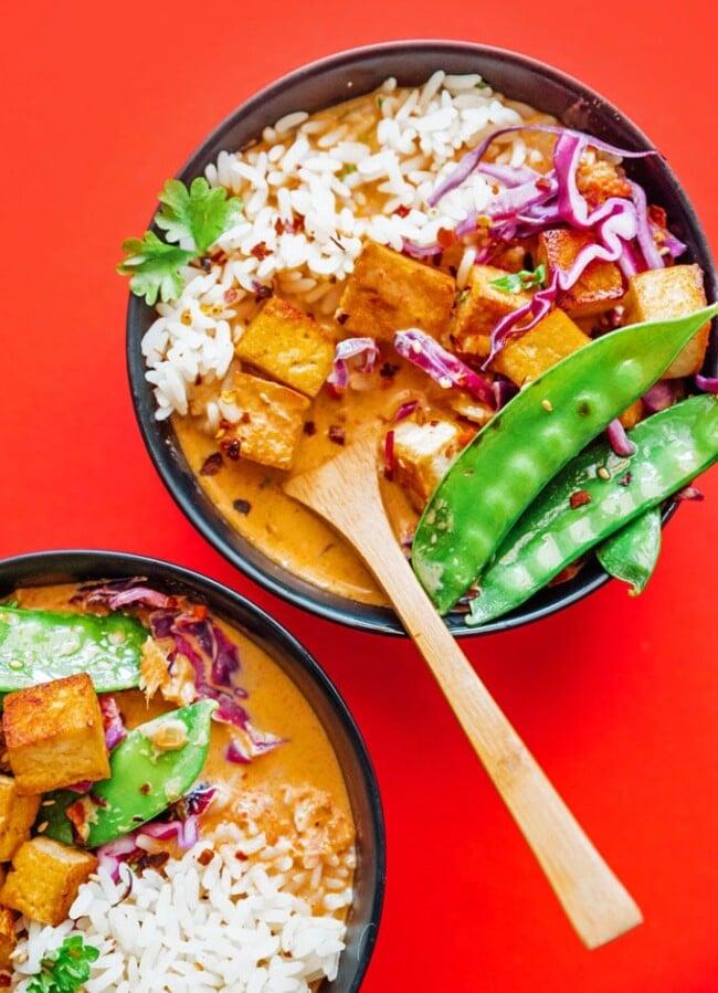 Vegetarian Thai cuisine