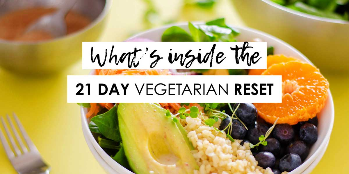 21 Day Vegetarian Reset