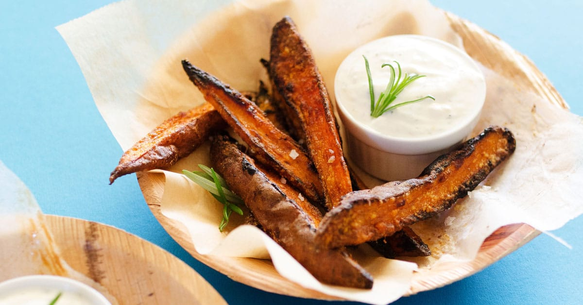 Oven-Baked Sweet Potato Wedges