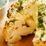 Ultimate Whole Roasted Cauliflower