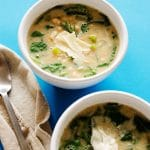 Creamy Vegan White Bean Soup