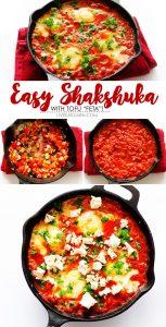 "Shakshuka with Tofu ""Feta"""