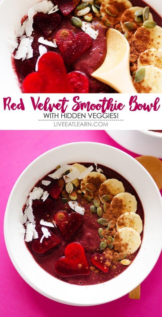 Red Velvet Beet Smoothie Bowl