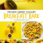 This Frozen Greek Yogurt Breakfast Bark is a quick and healthy breakfast recipe thats super flexible (and tasty!)