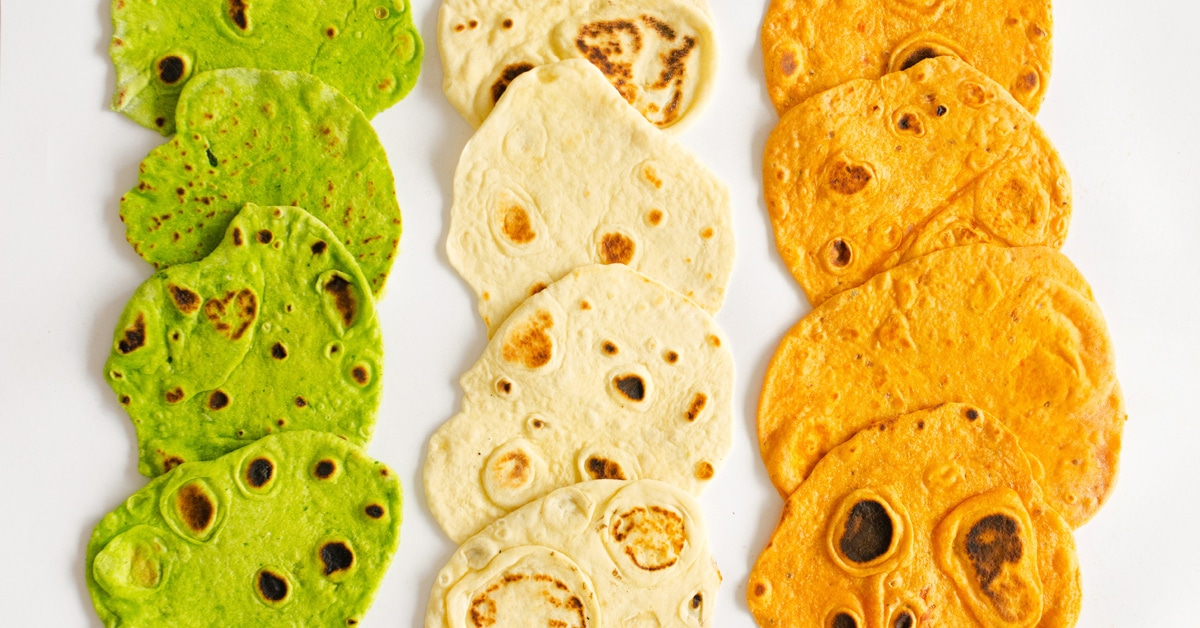 Make Your Own Flavored Tortillas