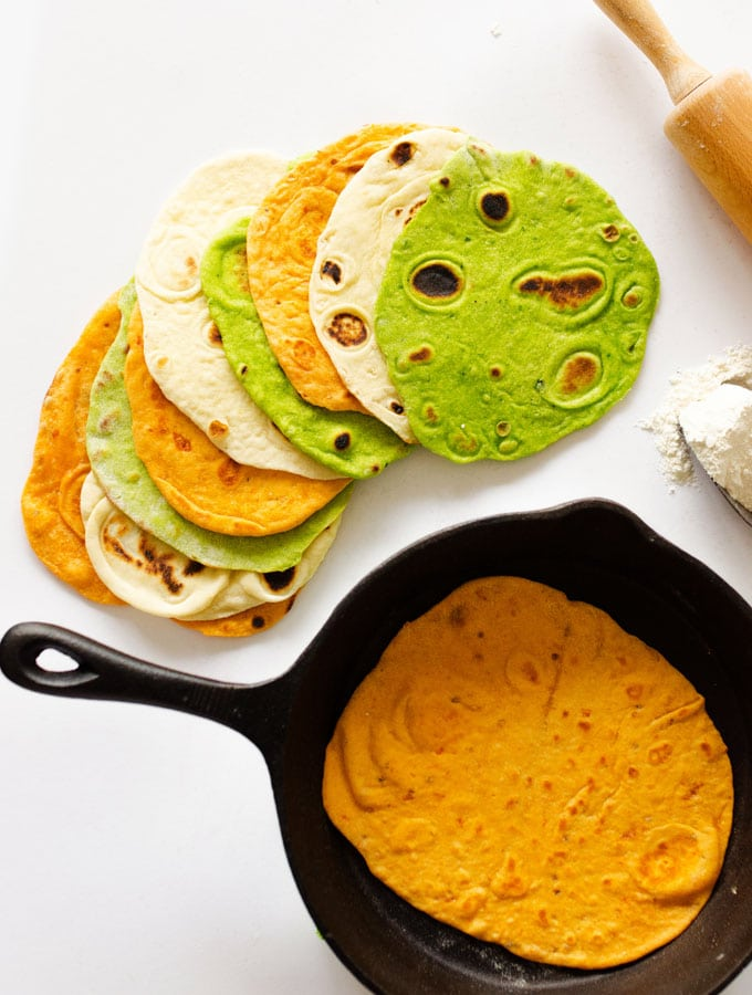 15. Make Your Own Flavored Tortillas