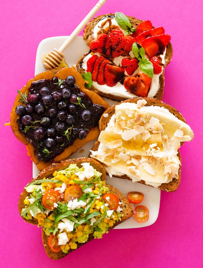 We're toasting to mom this Mother's Day...literally! Here are four delicious toast toppings to inspire your Mother's Day brunch.