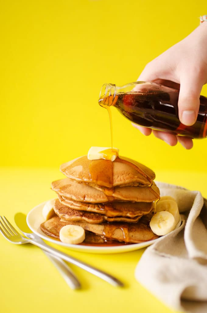 If you're out of milk or ready to try something new, these Beer Pancakes are right up your alley.