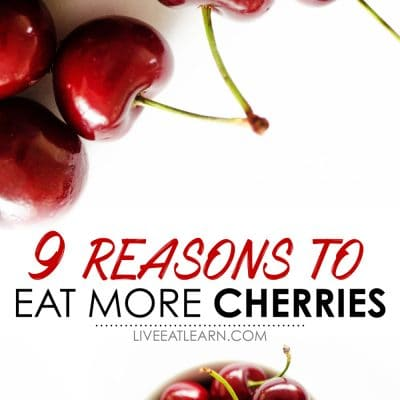 9 cherry benefits that will make you want a handful right now, including a whole host of health benefits, a bunch of delicious varieties, and easy flavors to pair with them.