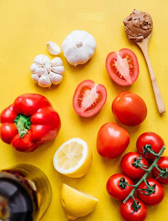 Romesco sauce recipe ingredients